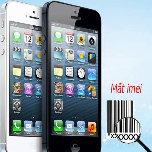 Khắc phục lỗi iPhone 5 5s mất imei